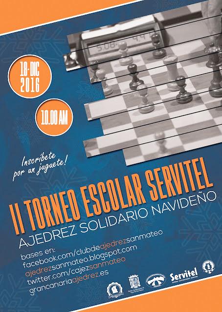 II Torneo Ajedrez Servitel