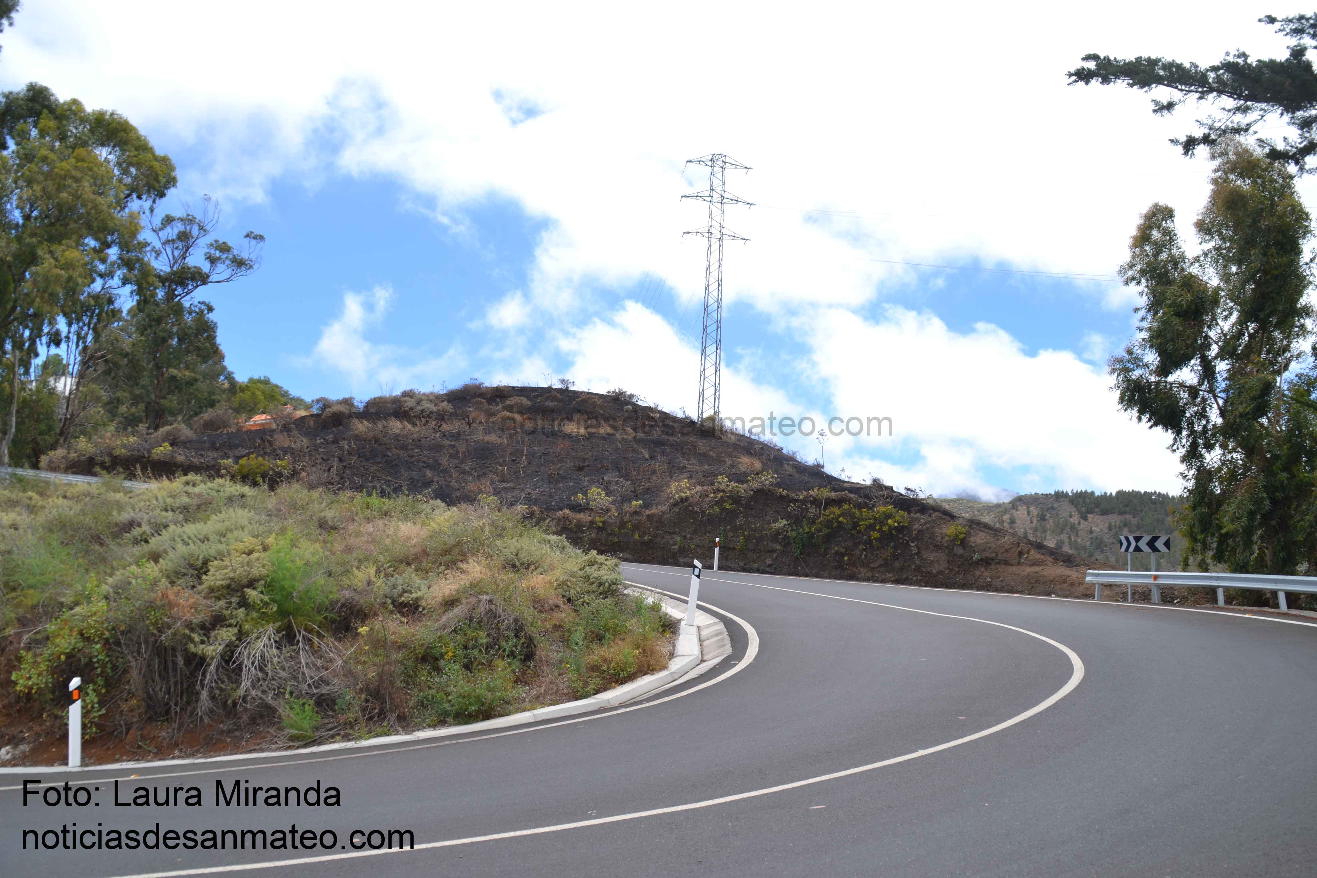 Incendio en Vuelta de Antona 31 de mayo de 2017 Foto Laura Miranda Noticias de San Mateo 1