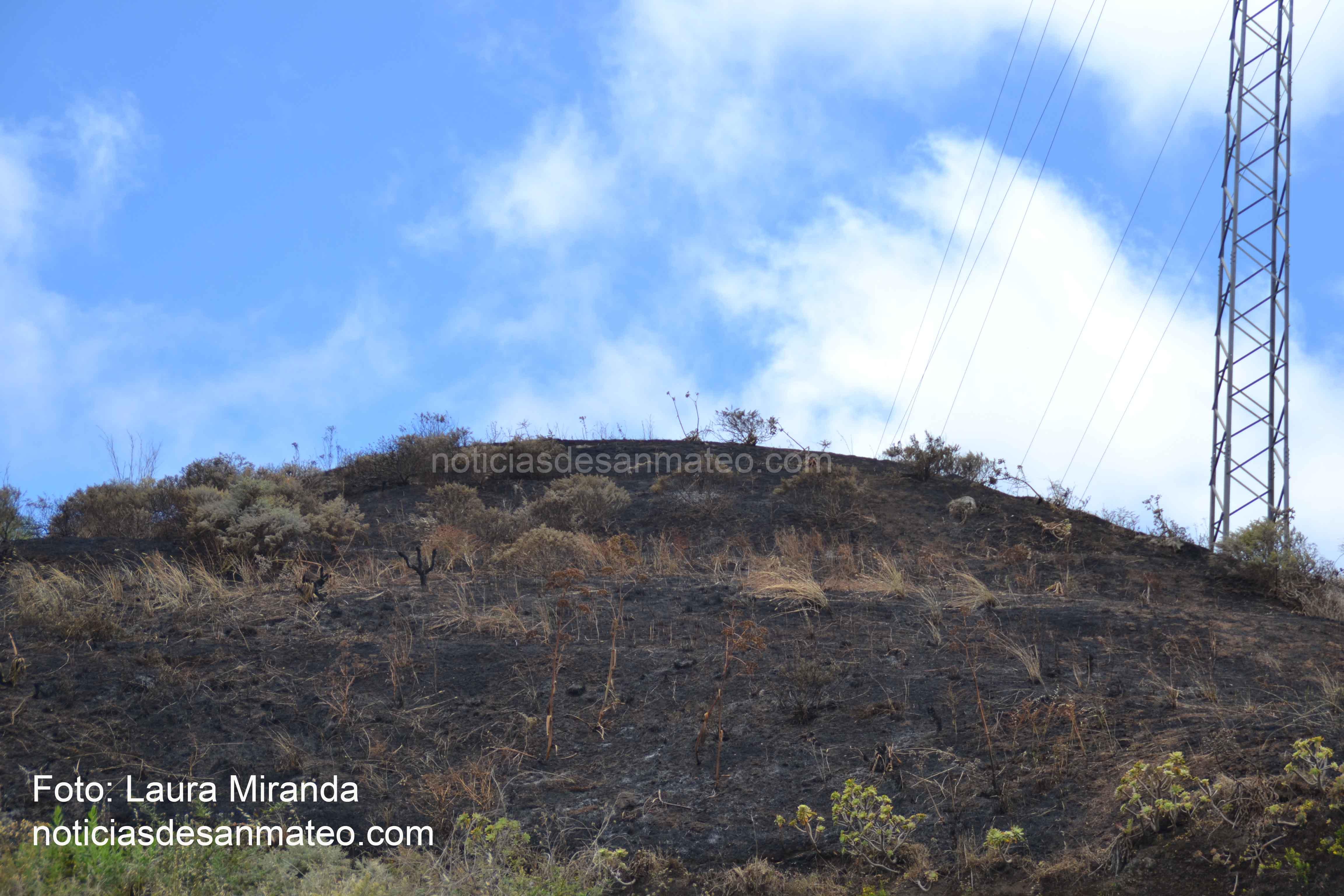 Incendio en Vuelta de Antona 31 de mayo de 2017 Foto Laura Miranda Noticias de San Mateo 2