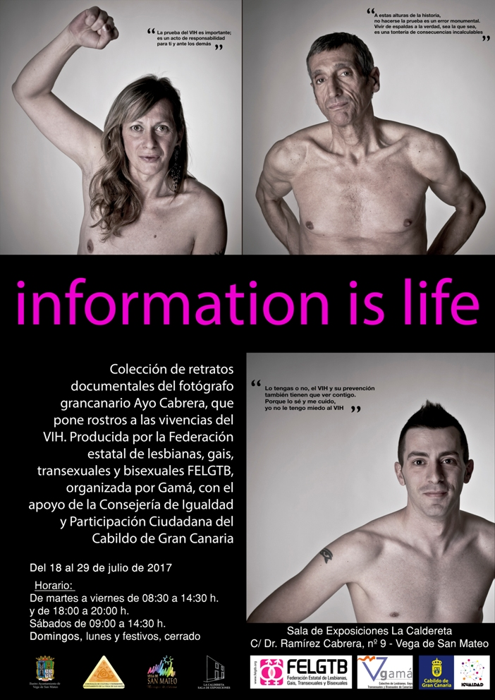 Information is life SanMateo
