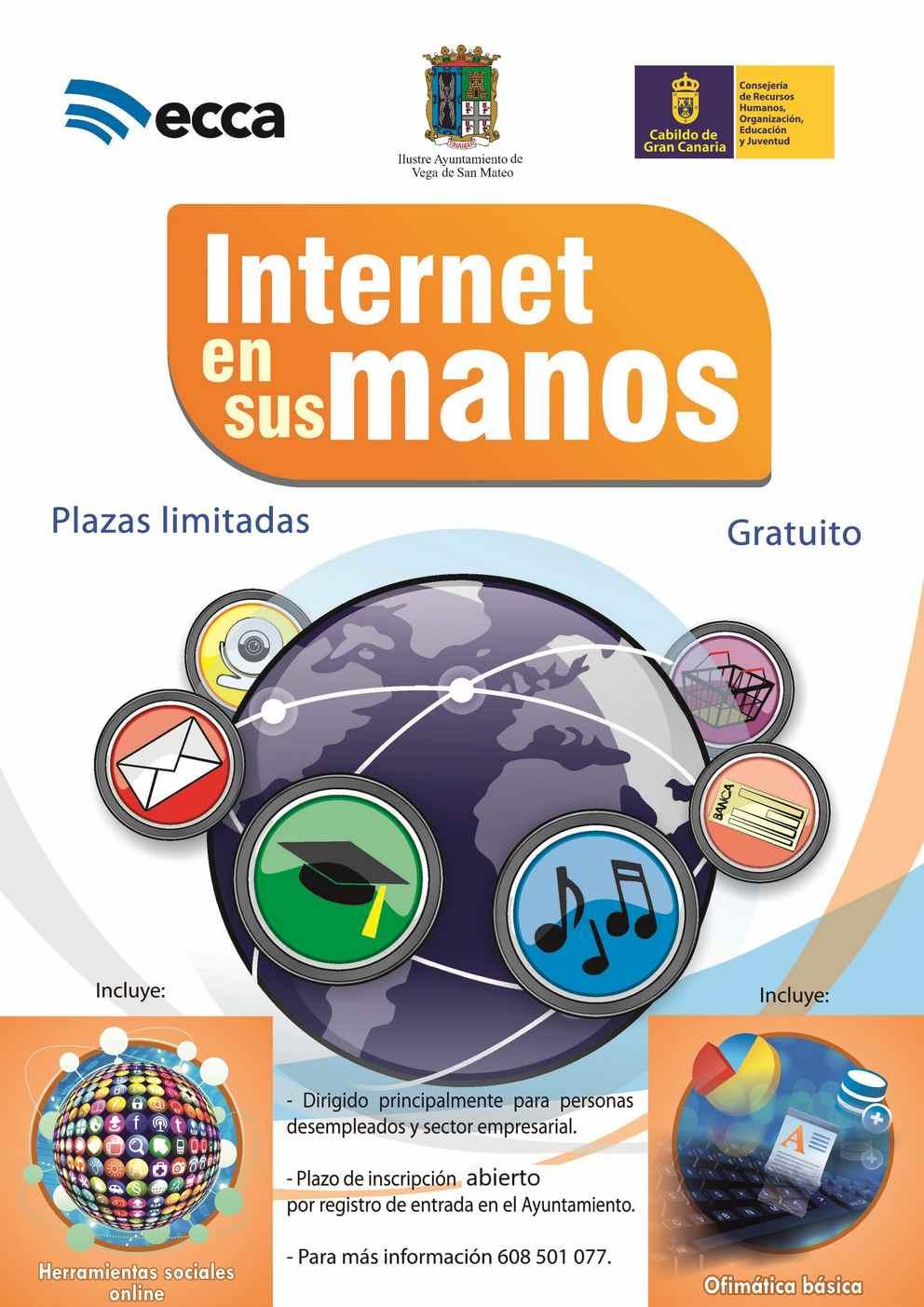 Internet en sus manos