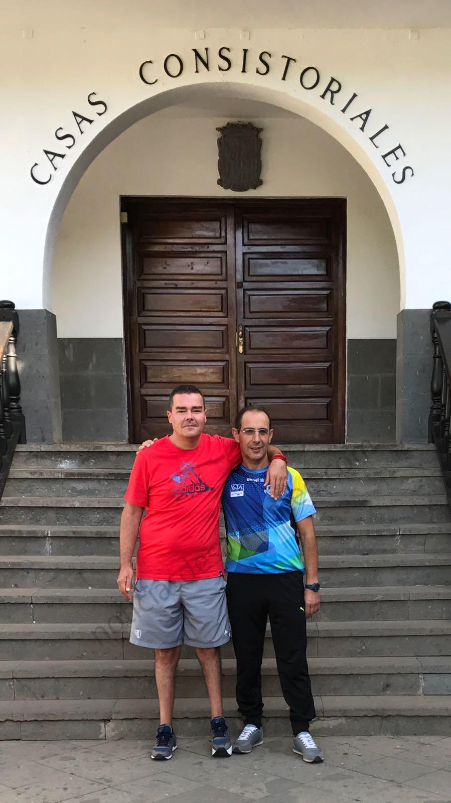Jorge Montesdeoca y Miguel Reyes 11 sept 2017