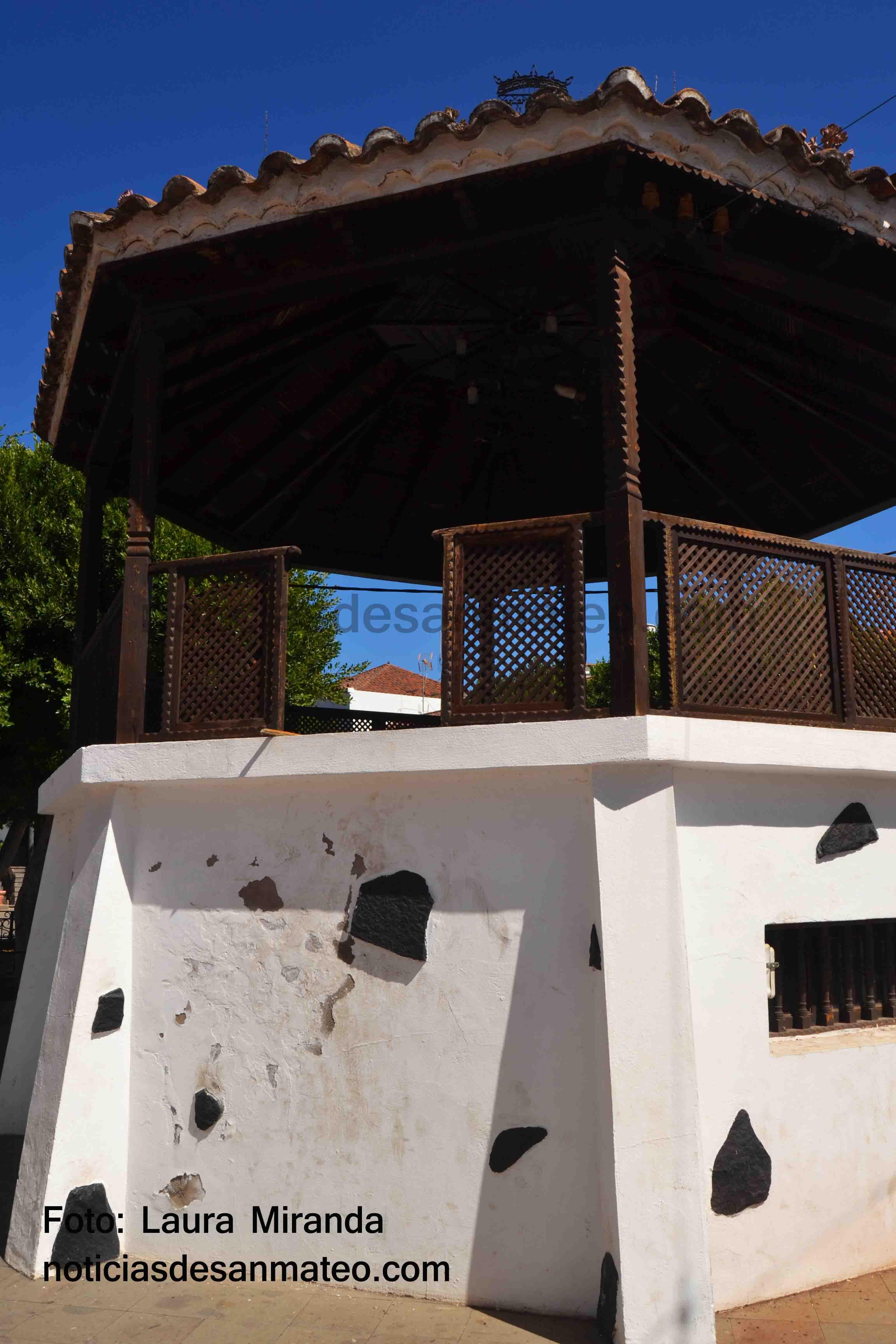 Kiosco Alameda Santa Ana San Mateo Foto LAURA MIRANDA NOTICIAS DE SAN MATEO