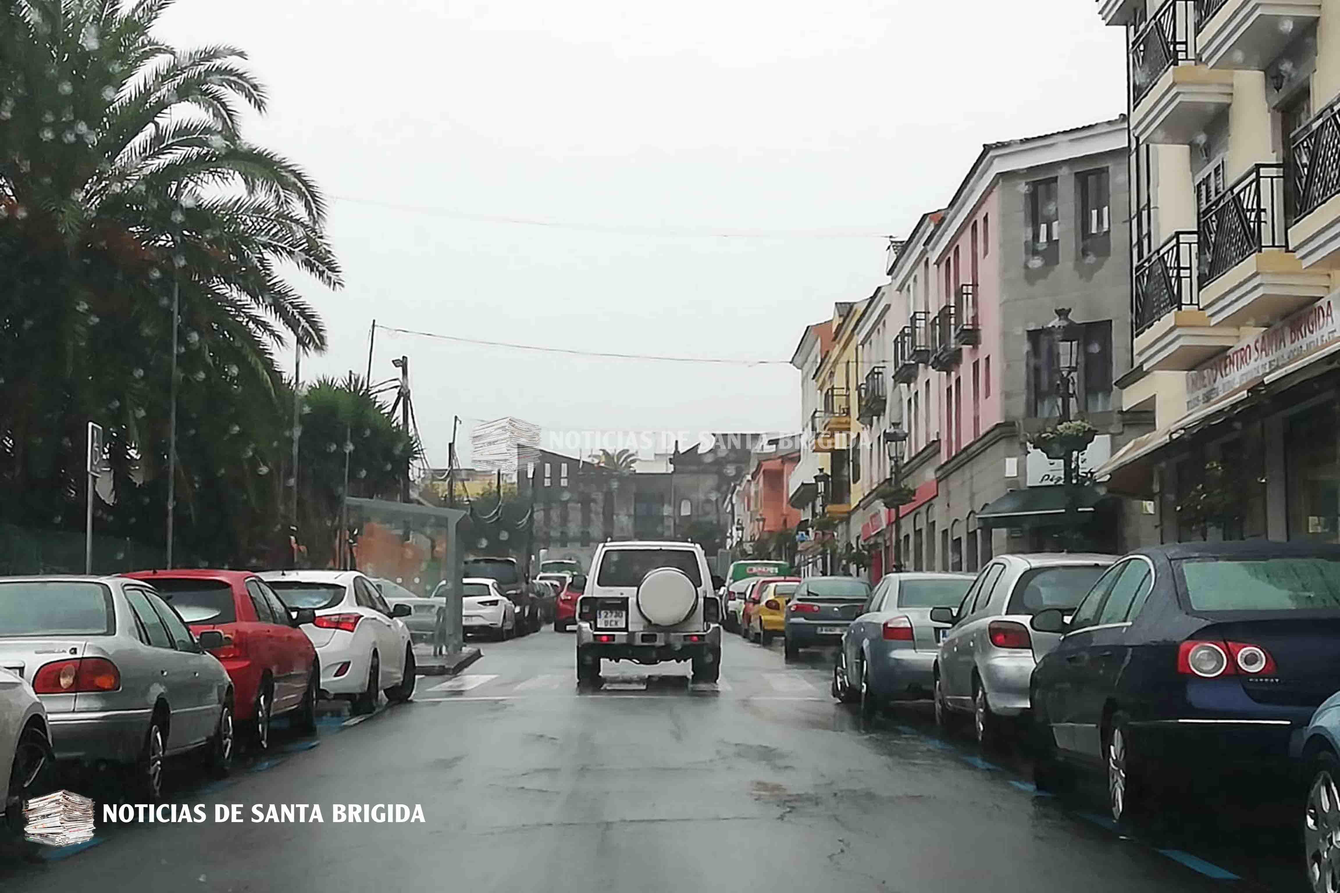 Llueve en Santa Brigida 18 de octubre de 2018 Foto Laura Miranda Noticias de Santa Brigida
