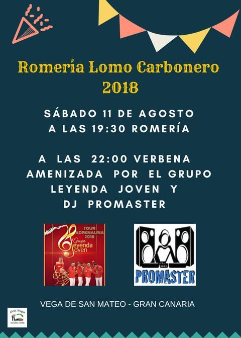 Lomo Carbonero Romeria