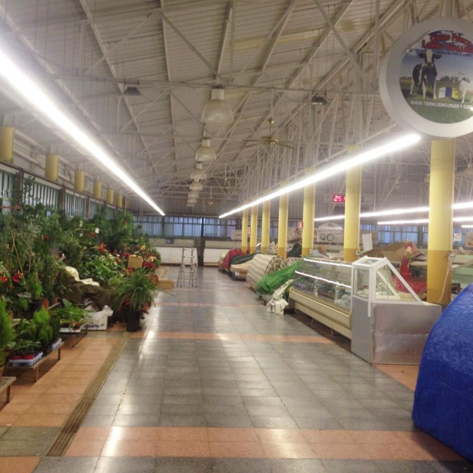 Luminaria interior Mercado