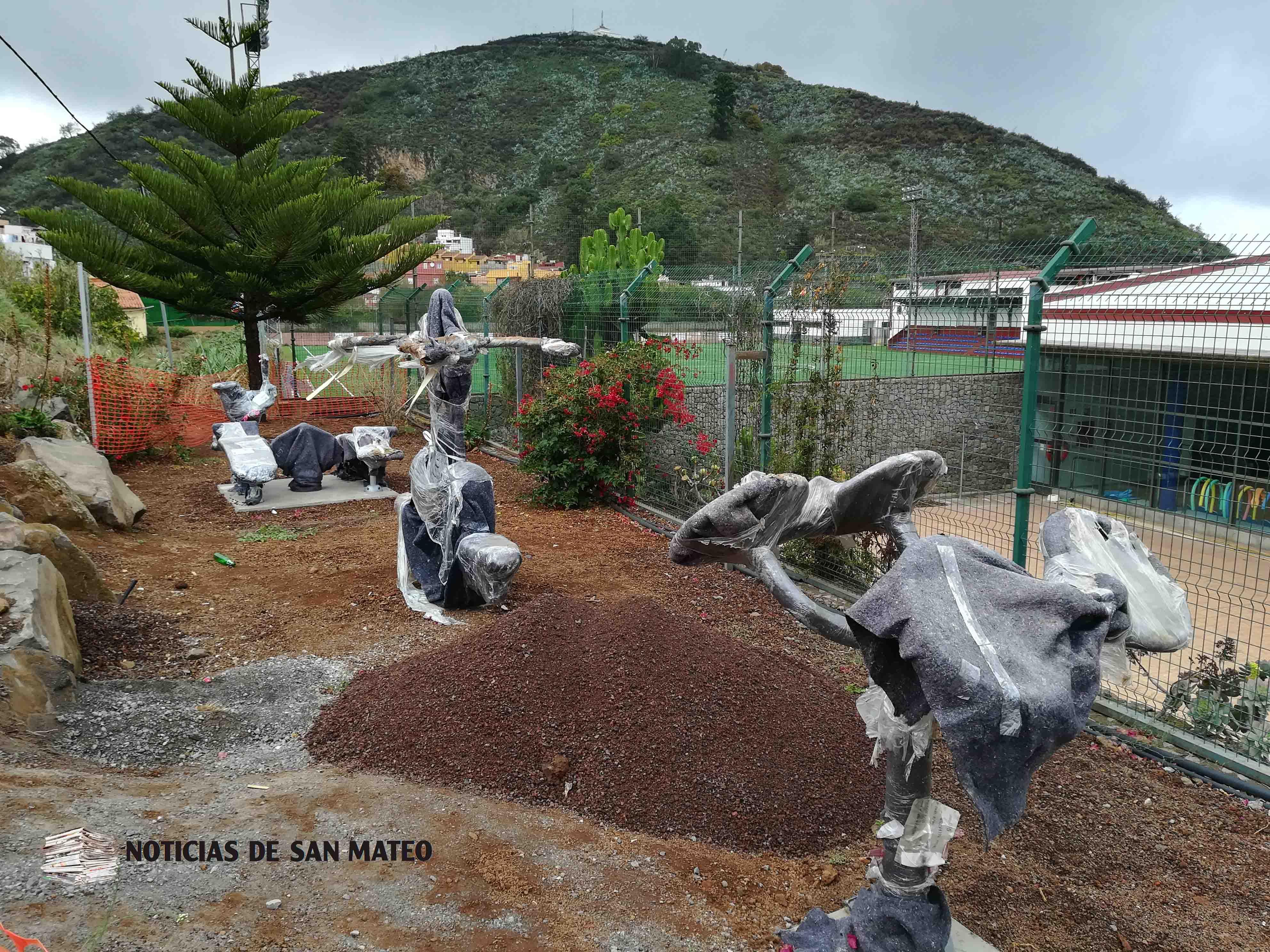 Maquinas biosaludables zona deportiva foto laura miranda noticias de san mateo