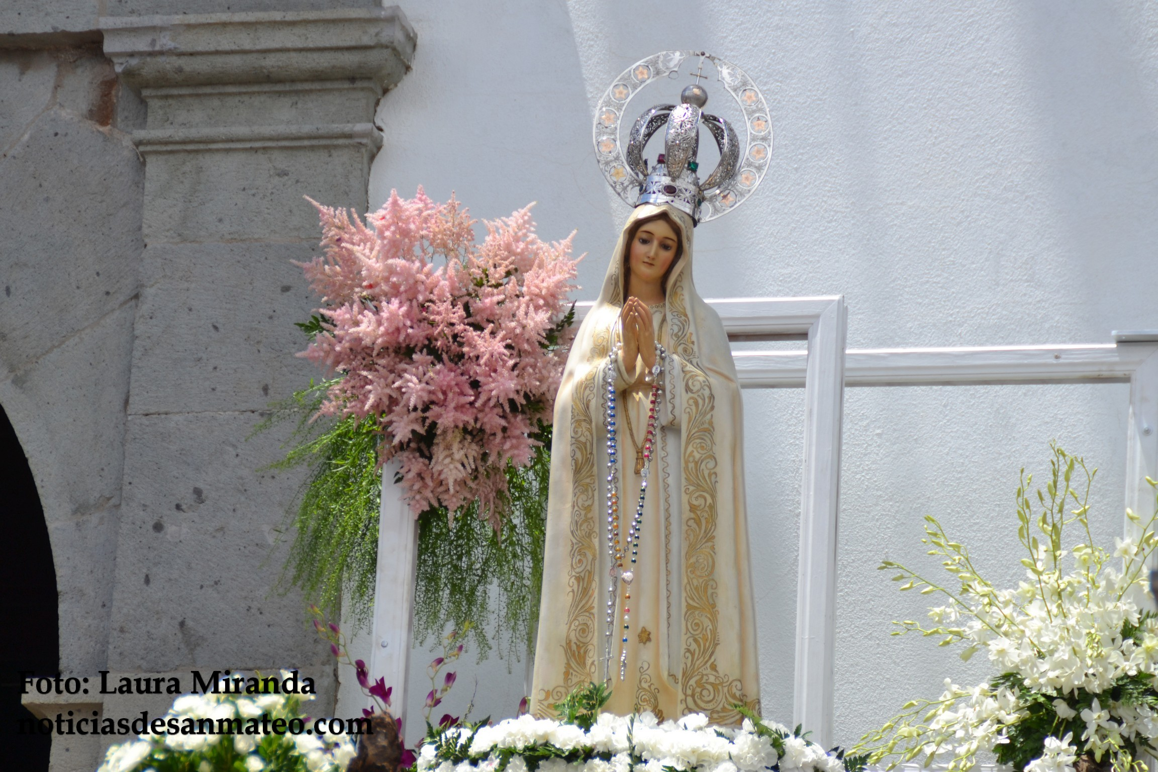 Misa de Enfermos en San Mateo Fiestas Fatima 2016 Foto Laura Miranda NDSM 3