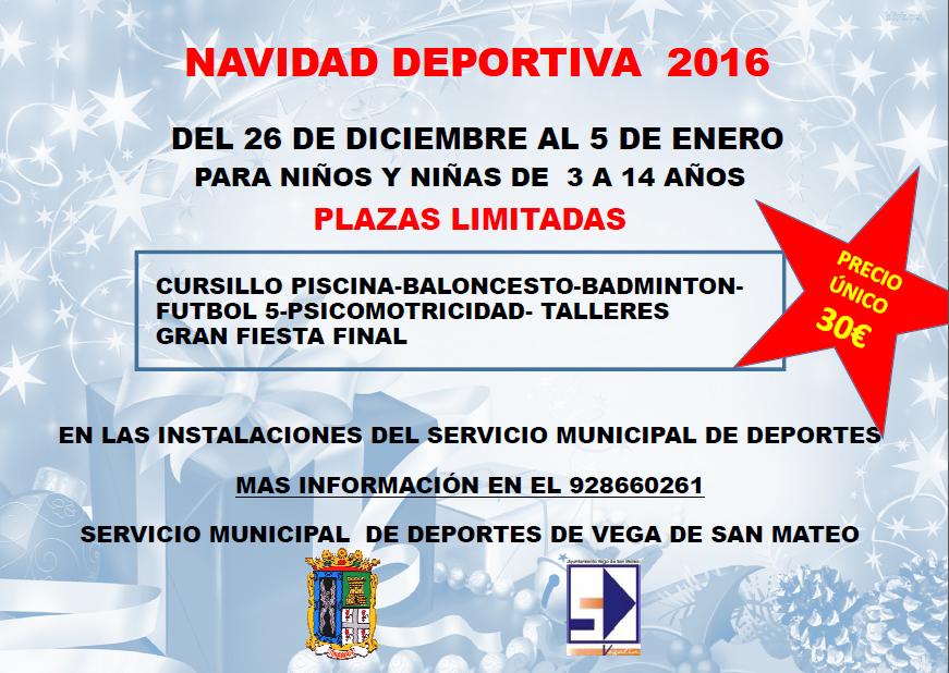 Navidad deportiva 2016