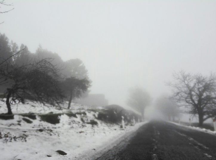 Nieve cumbre 8 febrero 2018