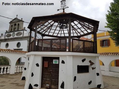 Obras Kiosco de la musica San Mateo NOTICIAS DE SAN MATEO DERECHOS RESERVADOS