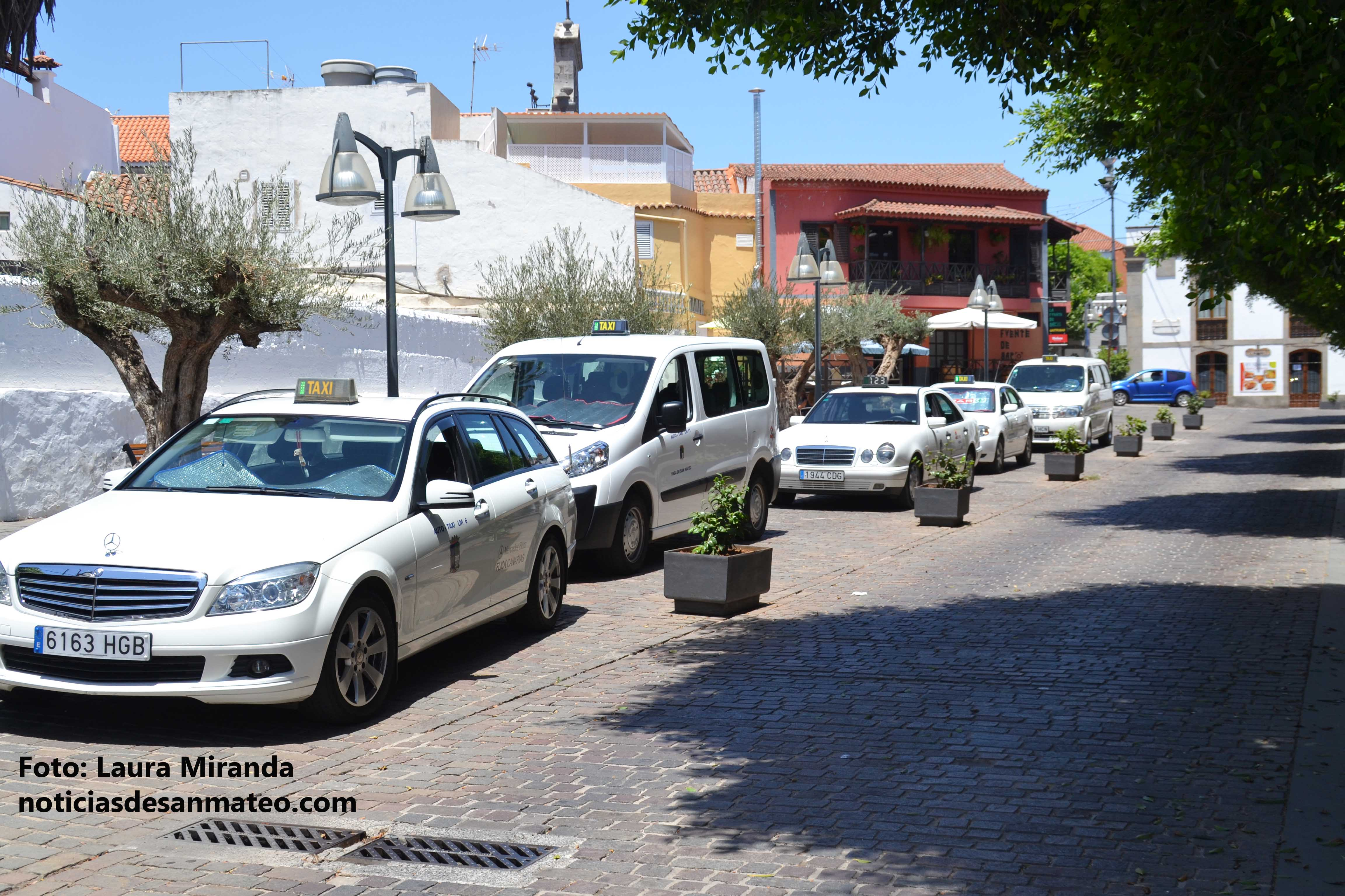 Parada taxis 2016 foto laura miranda noticias de san mateo