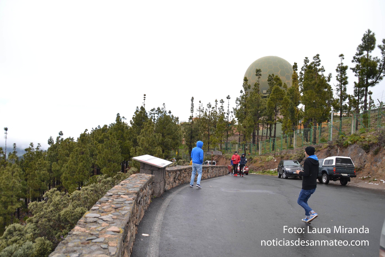 Pico de Las Nieves Foto Laura Miranda Noticias de San Mateo
