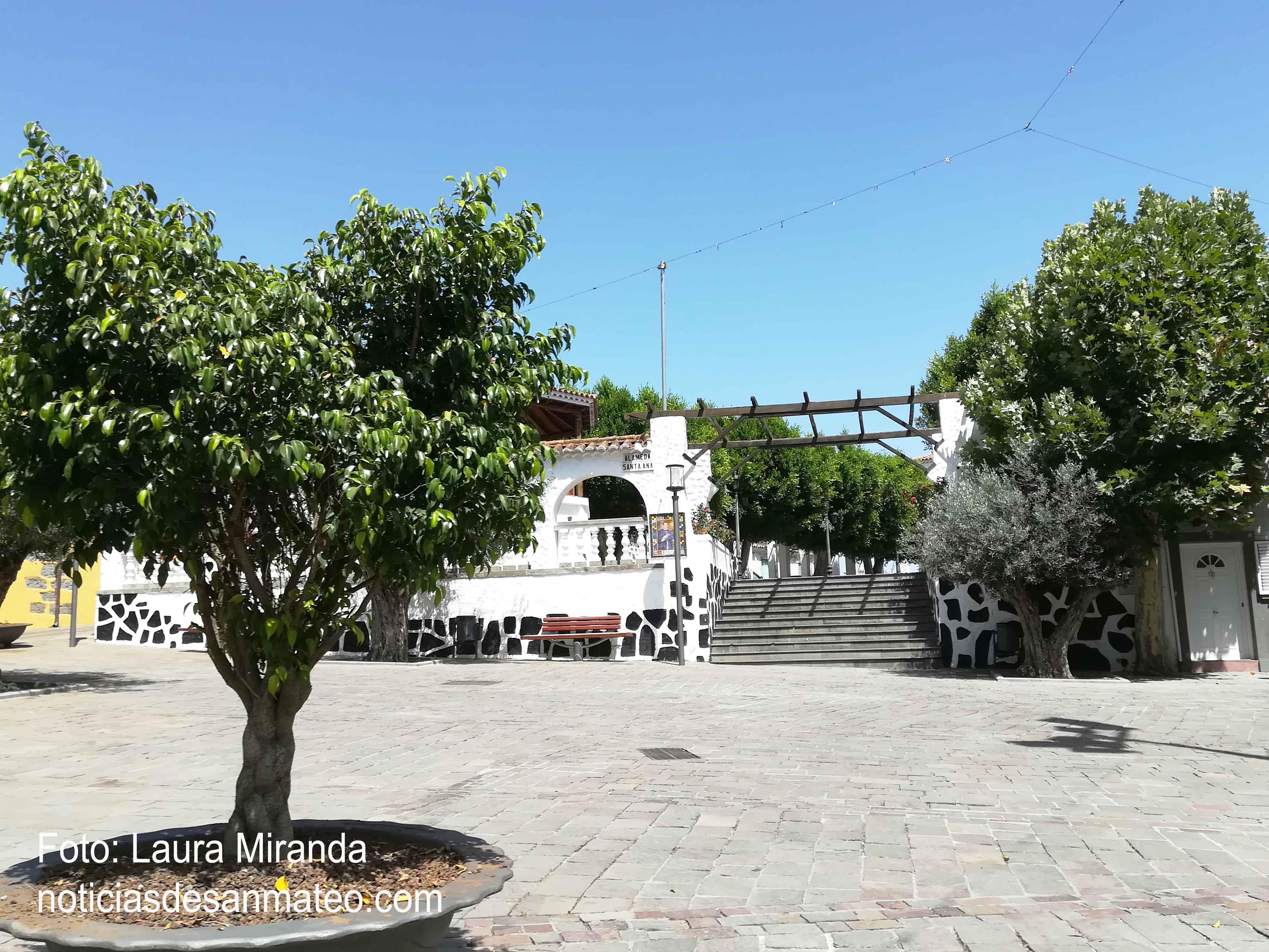 Plaza del Pino 11 de agosto de 2017 FOTO NOTICIAS DE SAN MATEO TODOS LOS DERECHOS RESERVADOS