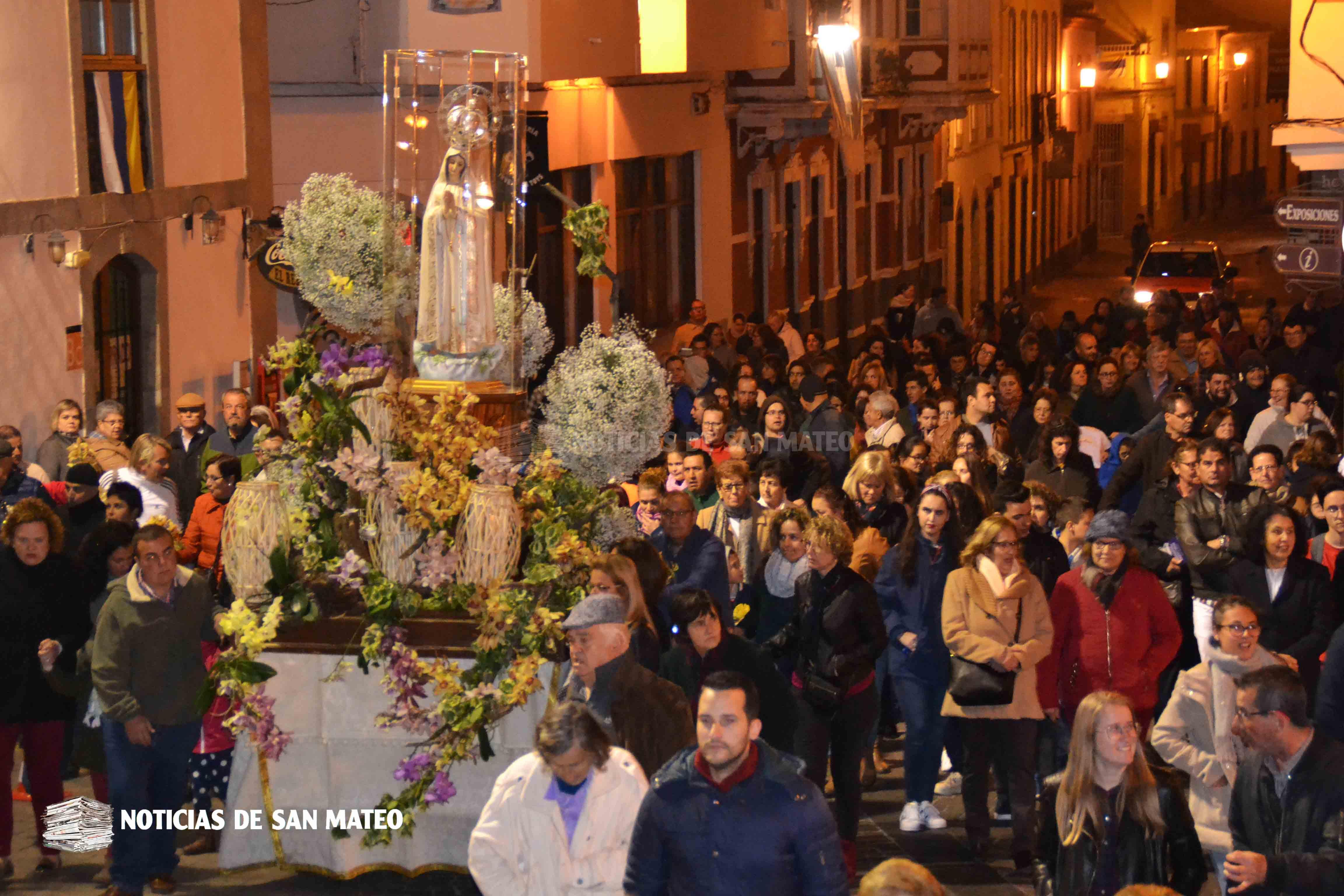 Portada Procesion Virgen Fatima Chorrillo San Mateo Foto Laura Miranda Noticias de San Mateo