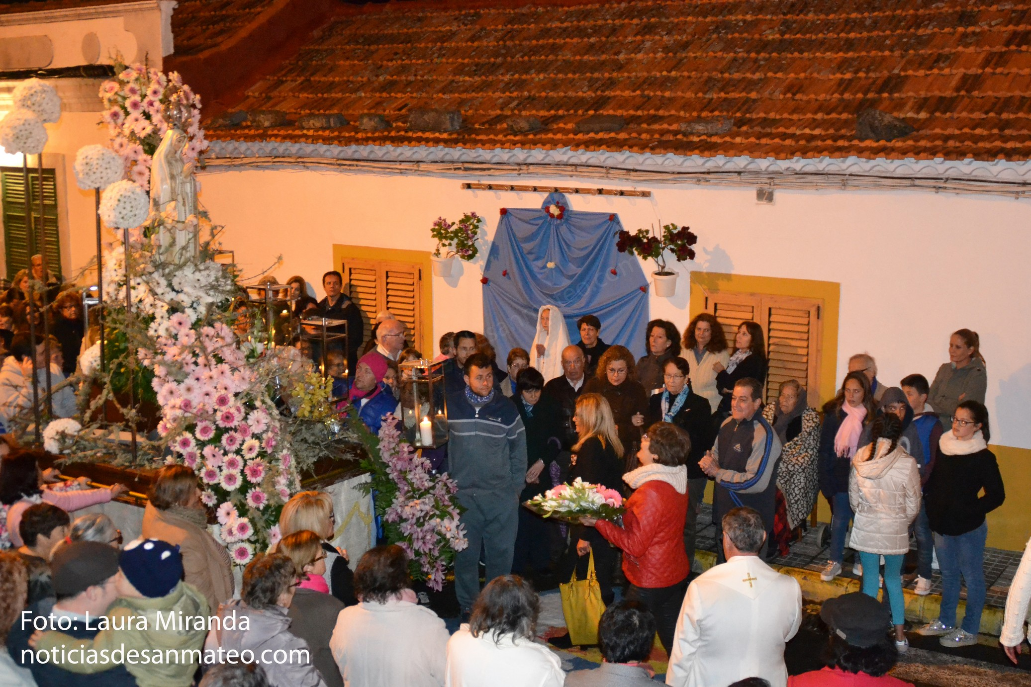 Procesion Virgen de Fatima La Higuera 12 de mayo de 2016 San Mateo 3
