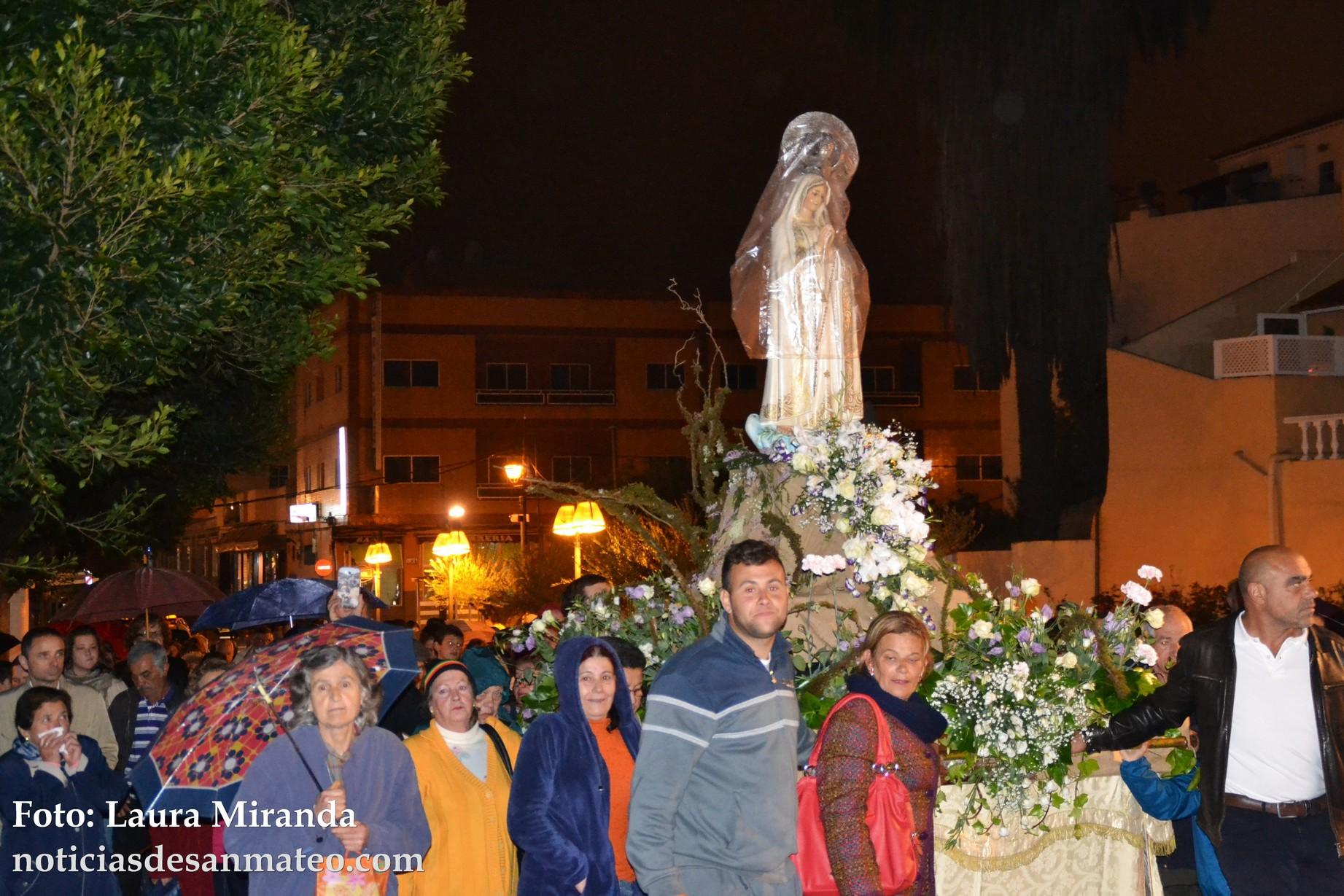 Procesion Virgen de Fatima Lunes 9 de mayo de 2016 Foto Laura Miranda Noticias de San Mateo