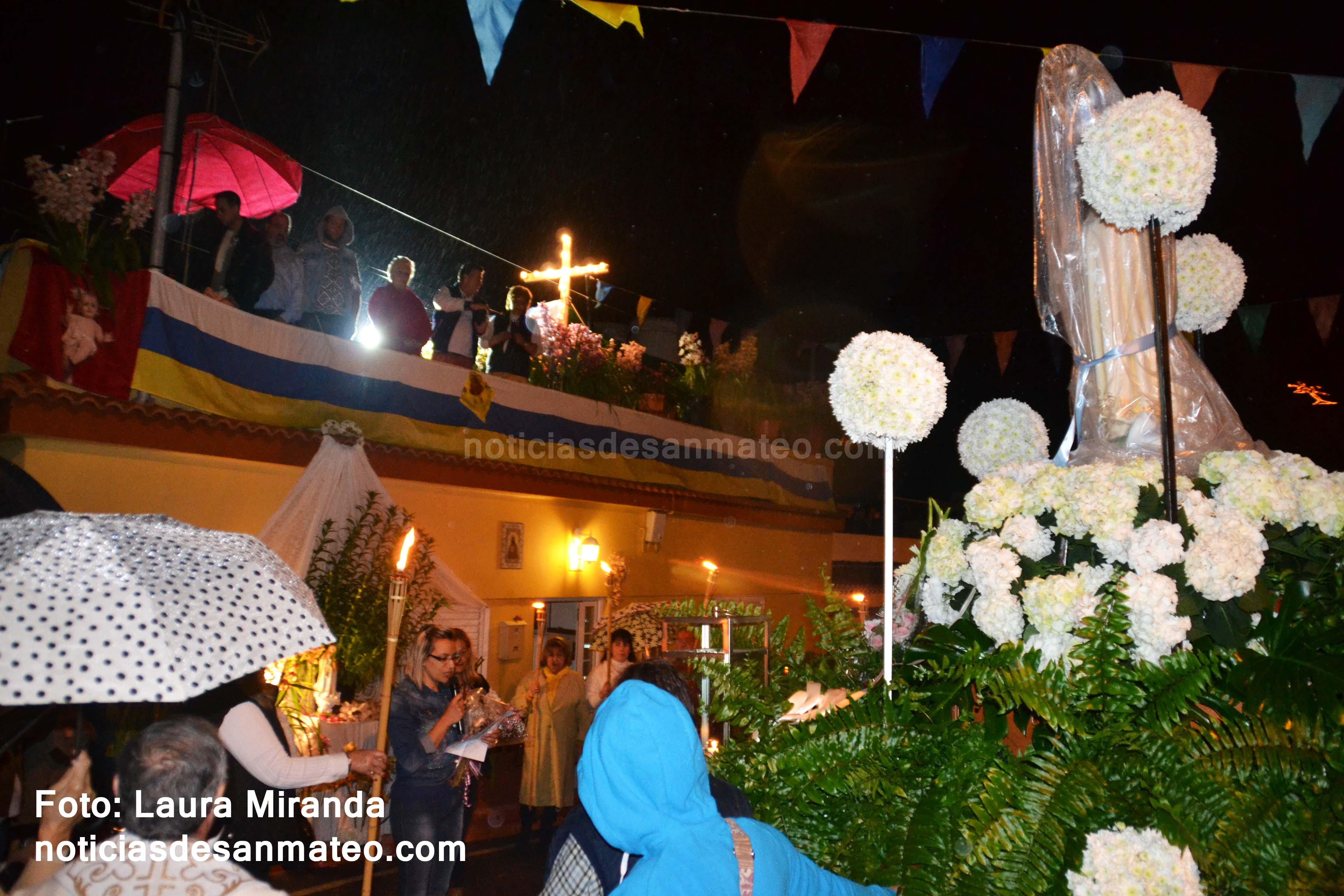 Procesion Virgen de Fatima La Higuera 2017