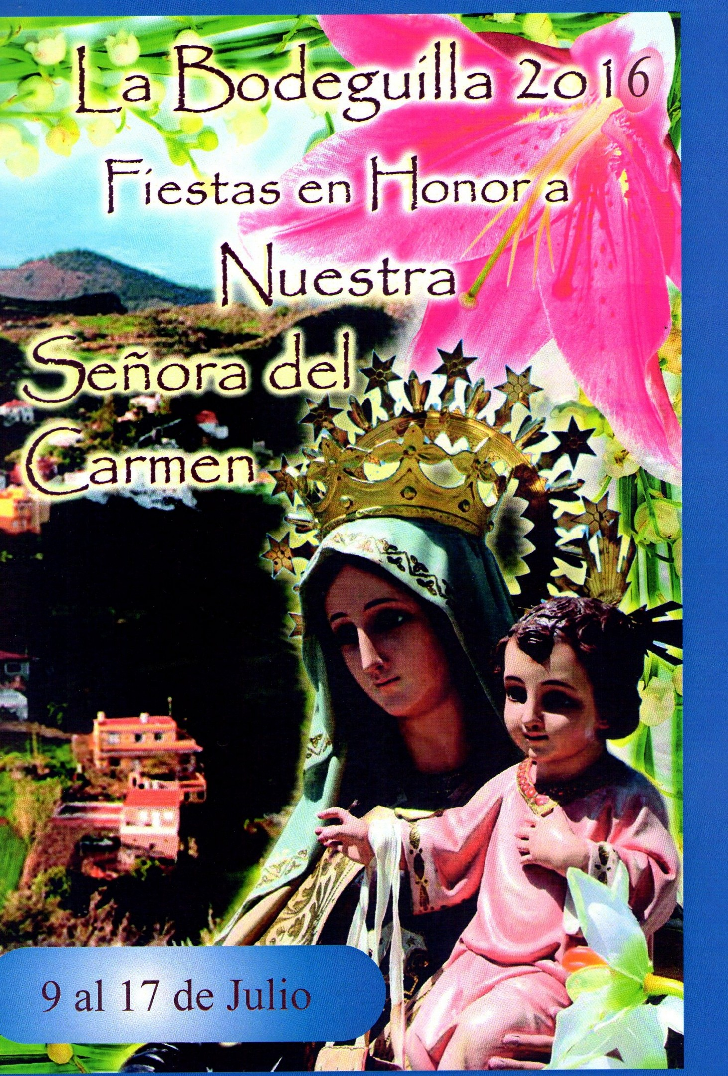 Programa Fiestas La Bodeguilla