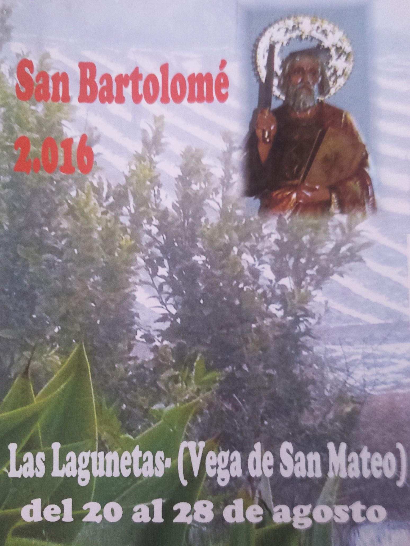 Programa Fiestas Laguentas 2016
