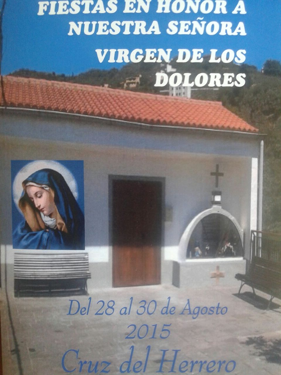Programa fiestas Cruz del Herrero 2015