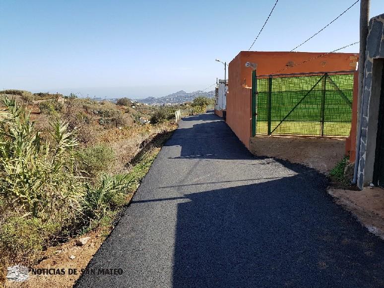 Reasfaltado carretera Los Corraletes San Mateo Noticias de San Mateo