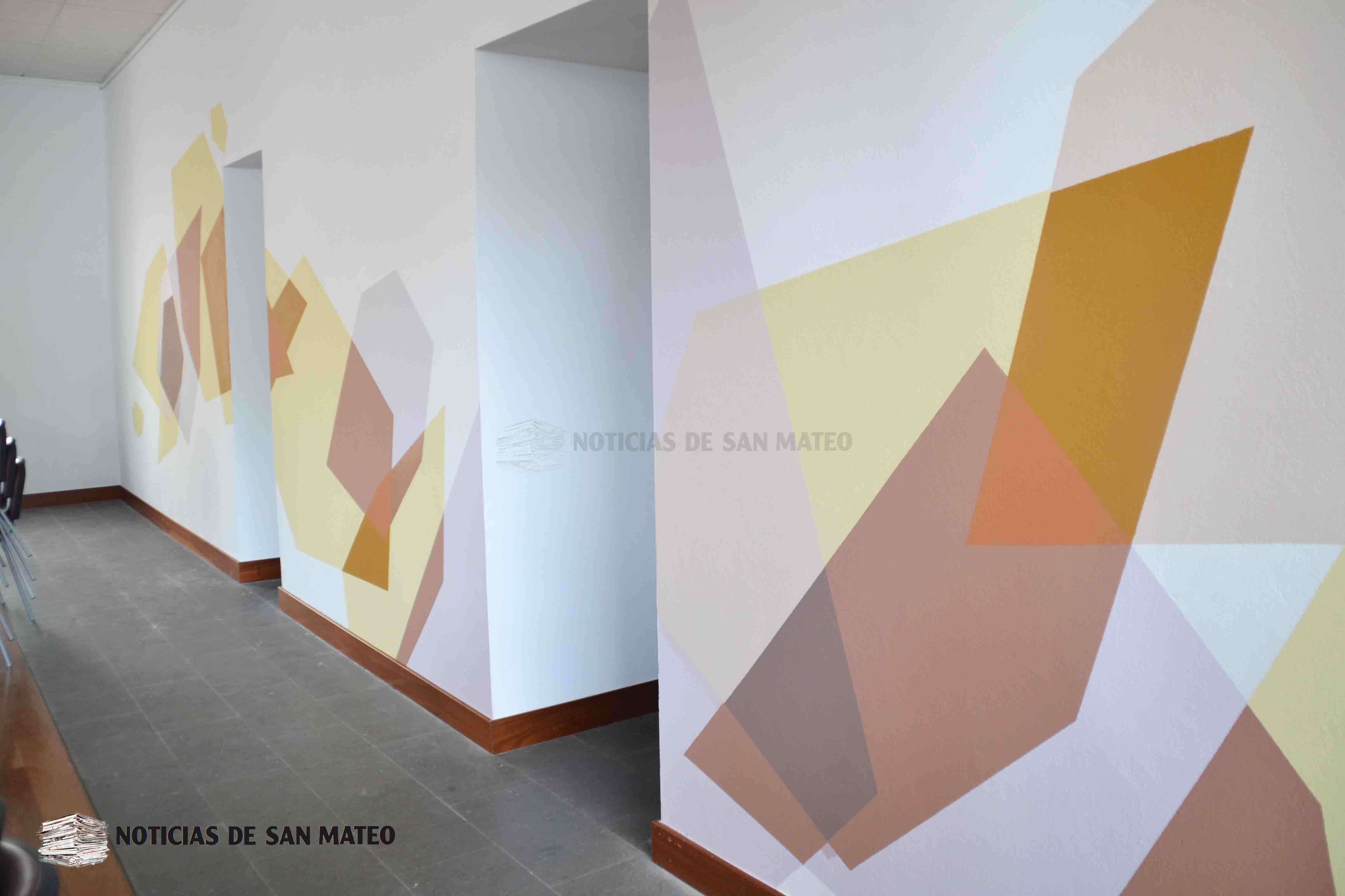 Renovada pintura local social interior Foto Laura Miranda 6 de septiembre de 2018