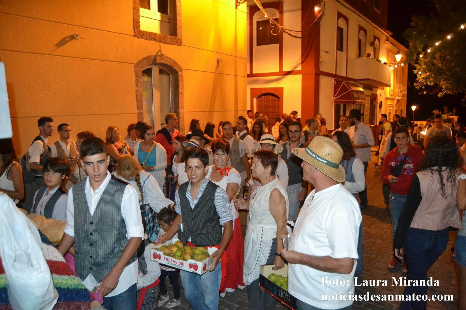 Romeria Las Lagunetas Foto de archivo