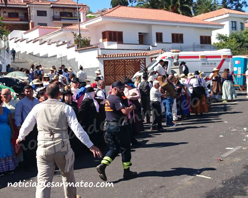 Romeria Teror accidente NOTICIAS DE SAN MATEO
