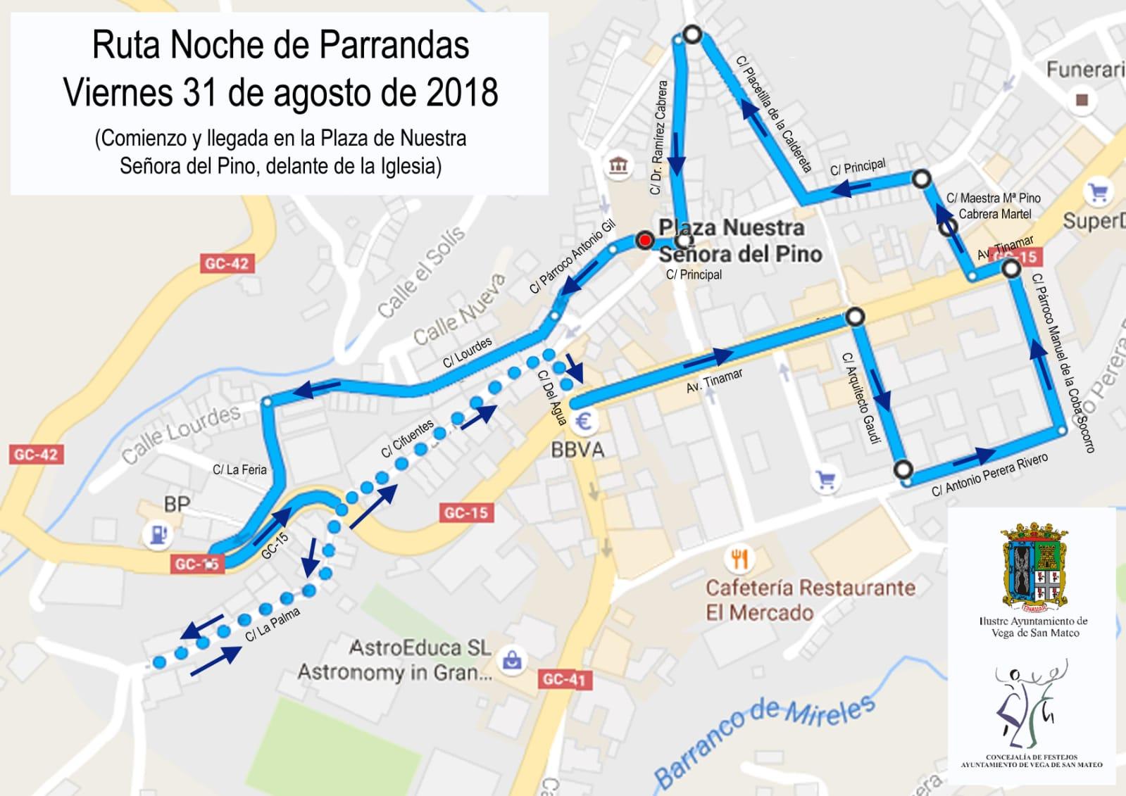 Ruta Noche de Parrandas