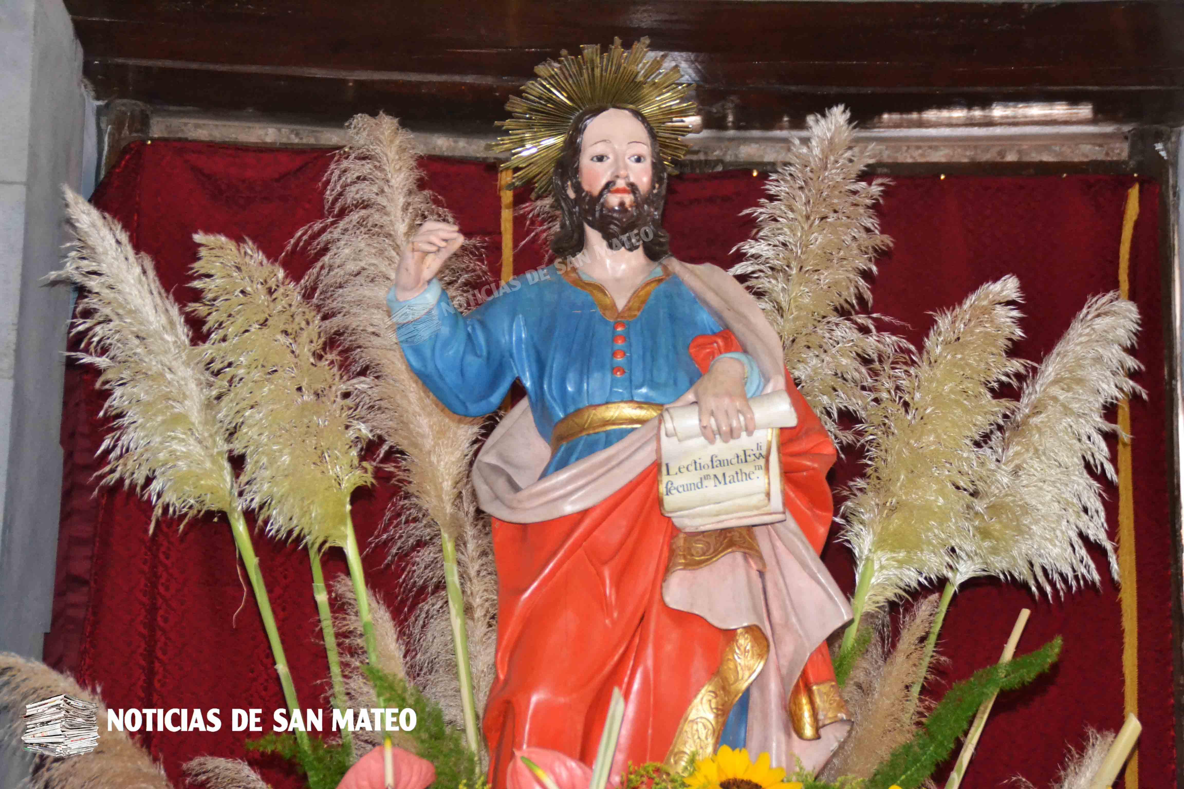 San Mateo Apostol Foto Laura Miranda Noticias de San Mateo