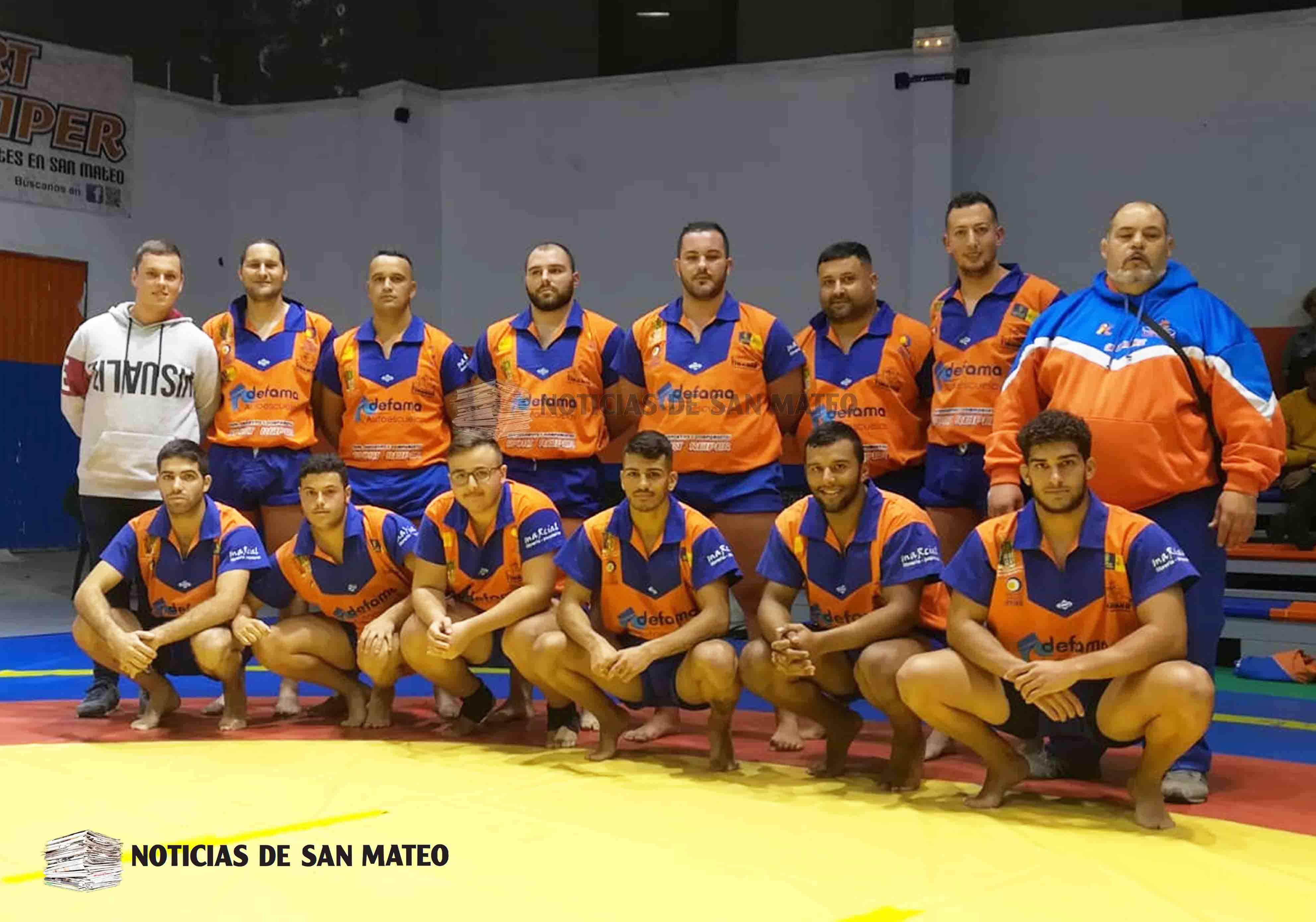 Tinamar 2018 2019 primera luchada liga 26 oct 2018 Foto Noticias de San Mateo