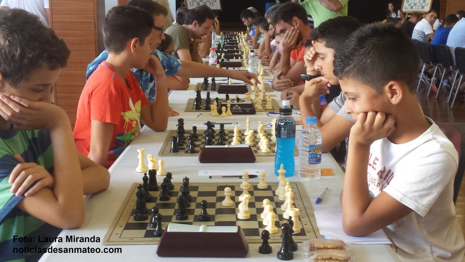 Torneo de ajedrez Tinamar 2015 Foto Noticias de San Mateo Laura Miranda