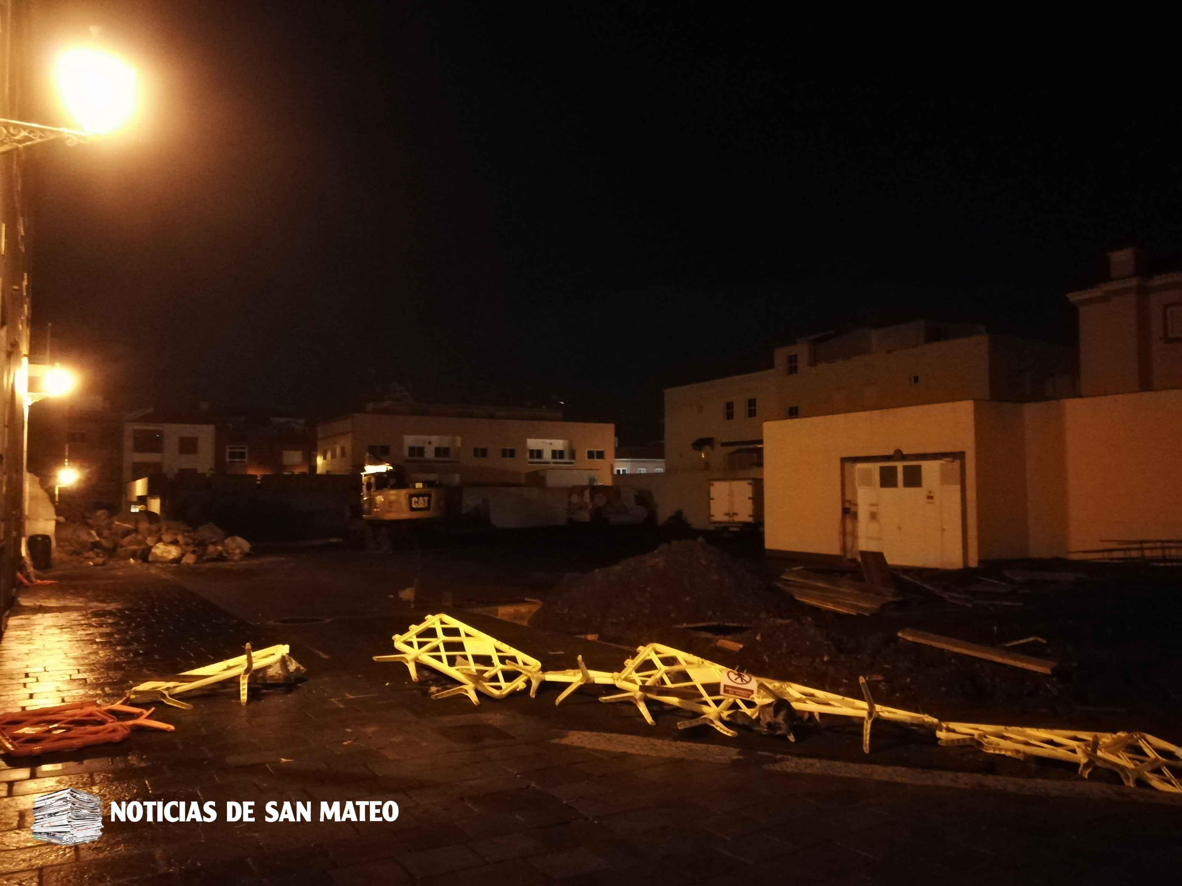 Vallas arrastradas viento San Mateo 27 de febrero de 2018 Foto Laura Miranda Noticias de San Mateo