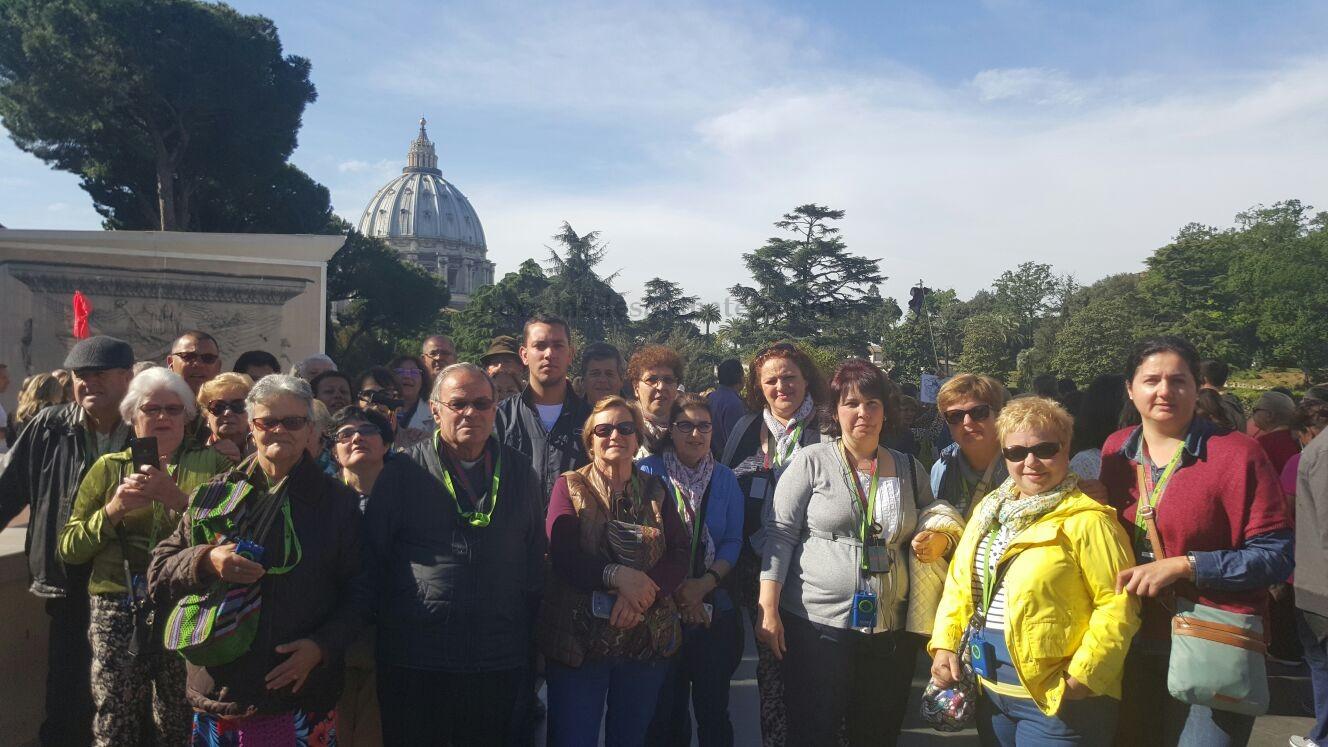 Viaje a Roma y Florencia de vegueros Noticias de San Mateo 1