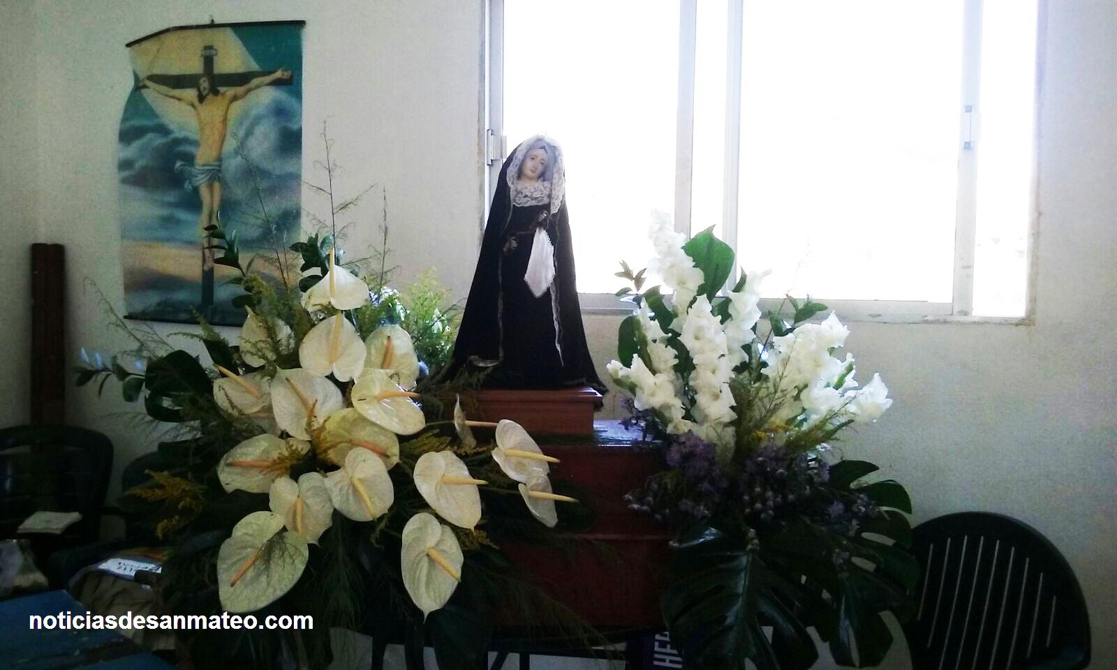 Virgen de Los Dolores Cruz del Herrero 2015