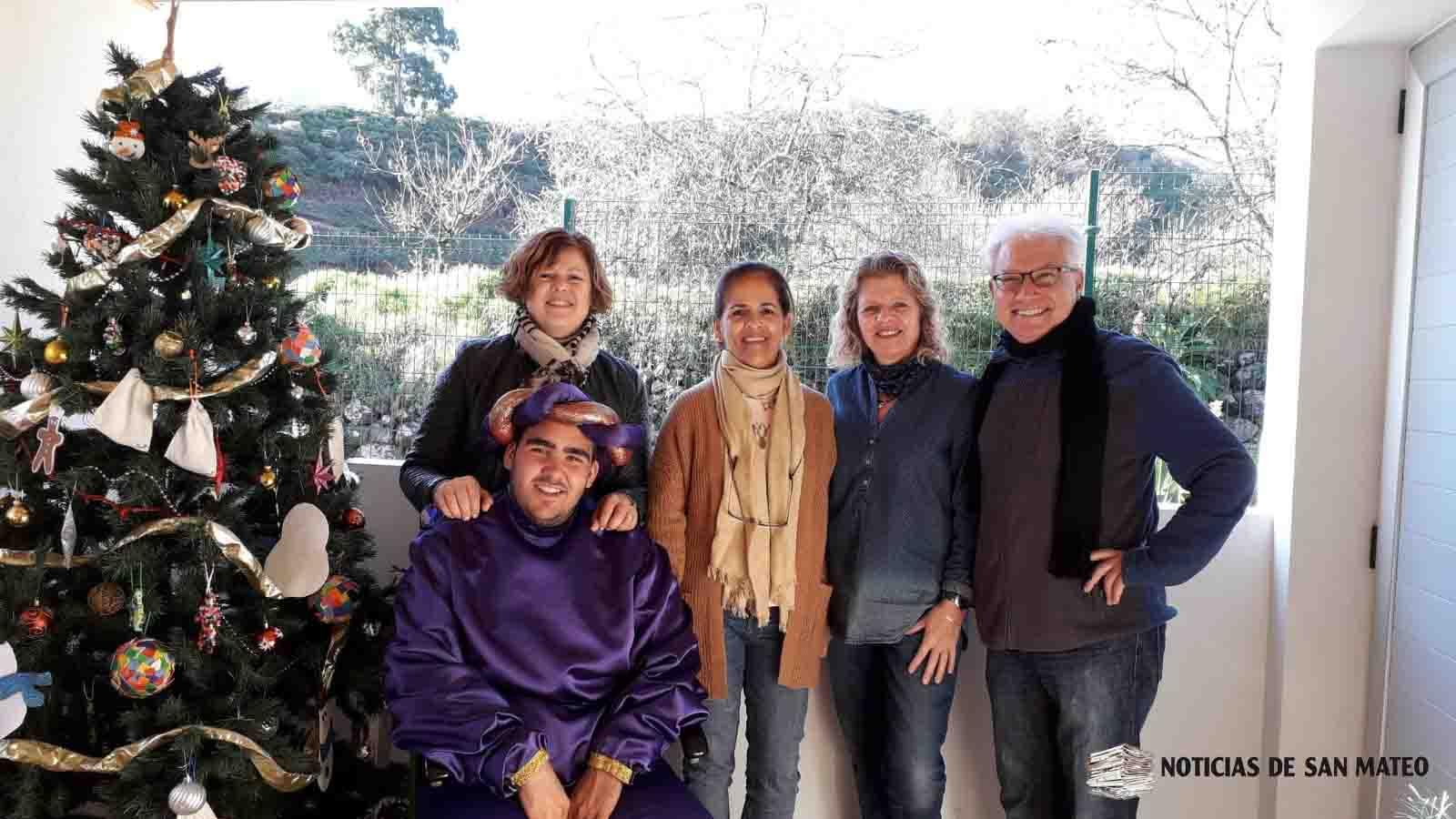 Visita del Paje Real a La Lechuza 19 diciembre de 2018