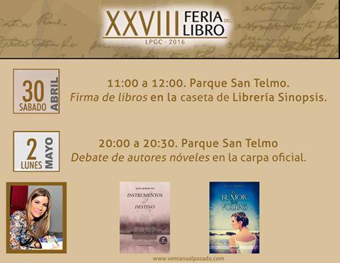Yara Medina en Feria del Libro