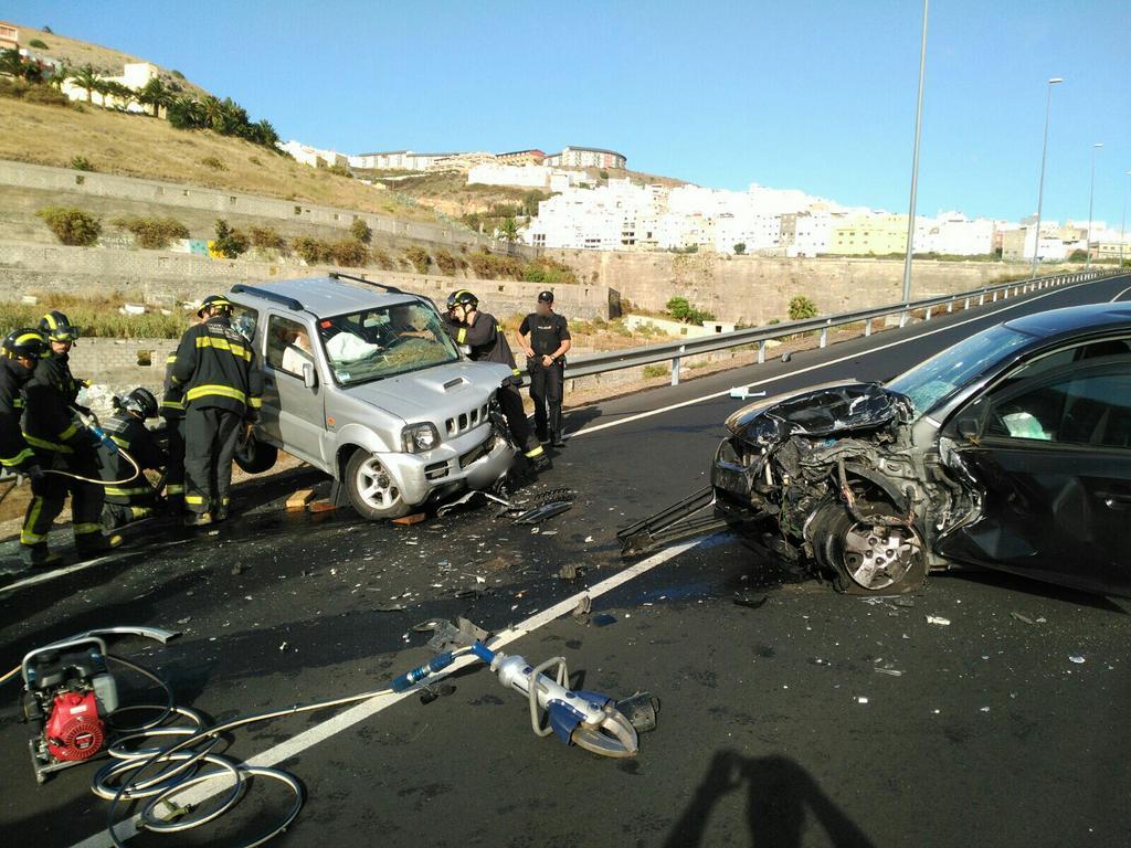accidente gc21 teror 10 julio 2016