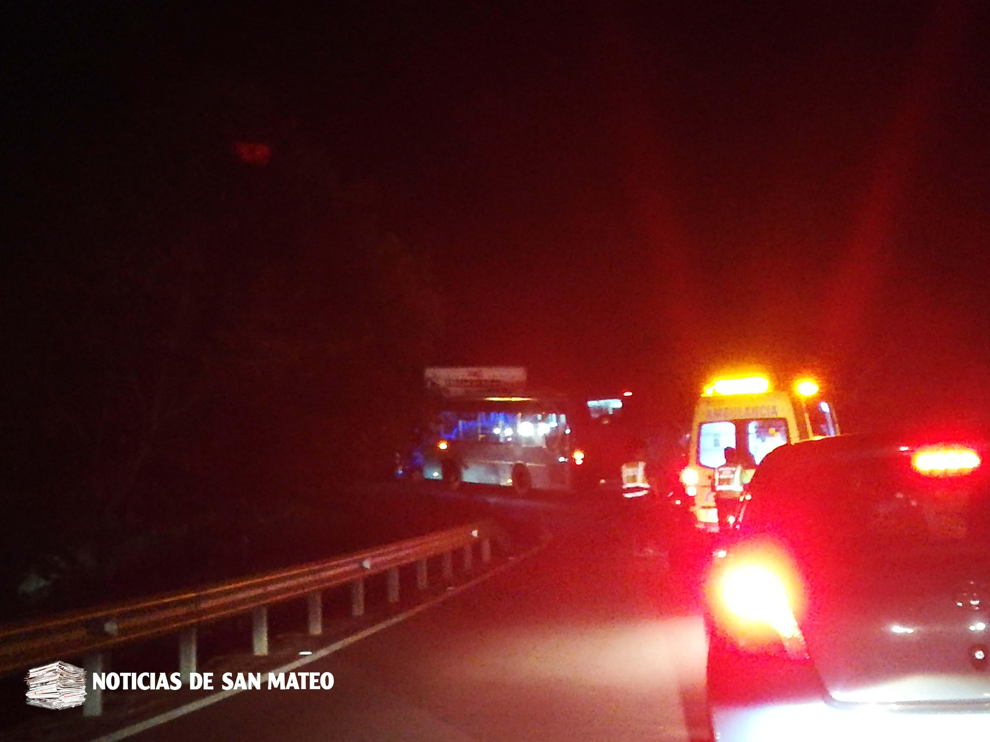 accidente montana cabreja san mateo 24 octubre 2017 noticias de san mateo foto laura miranda
