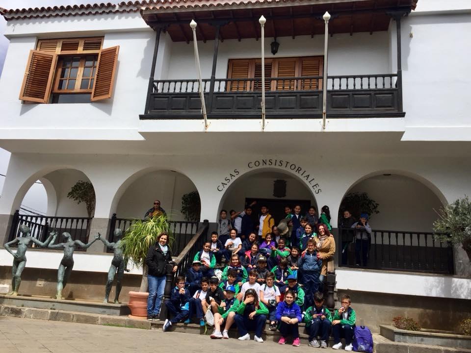 alumnos ceip atlantida visitan san mateo