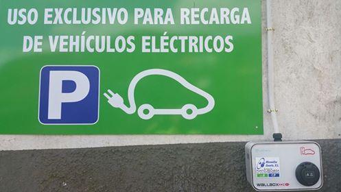 carga de vehiculos electricos san mateo guiniguada