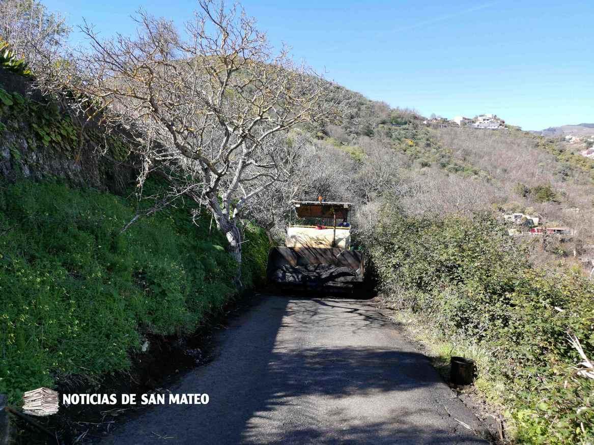 carretera hoya troya asfaltado 20 de febrero de 2019 noticias de san mateo