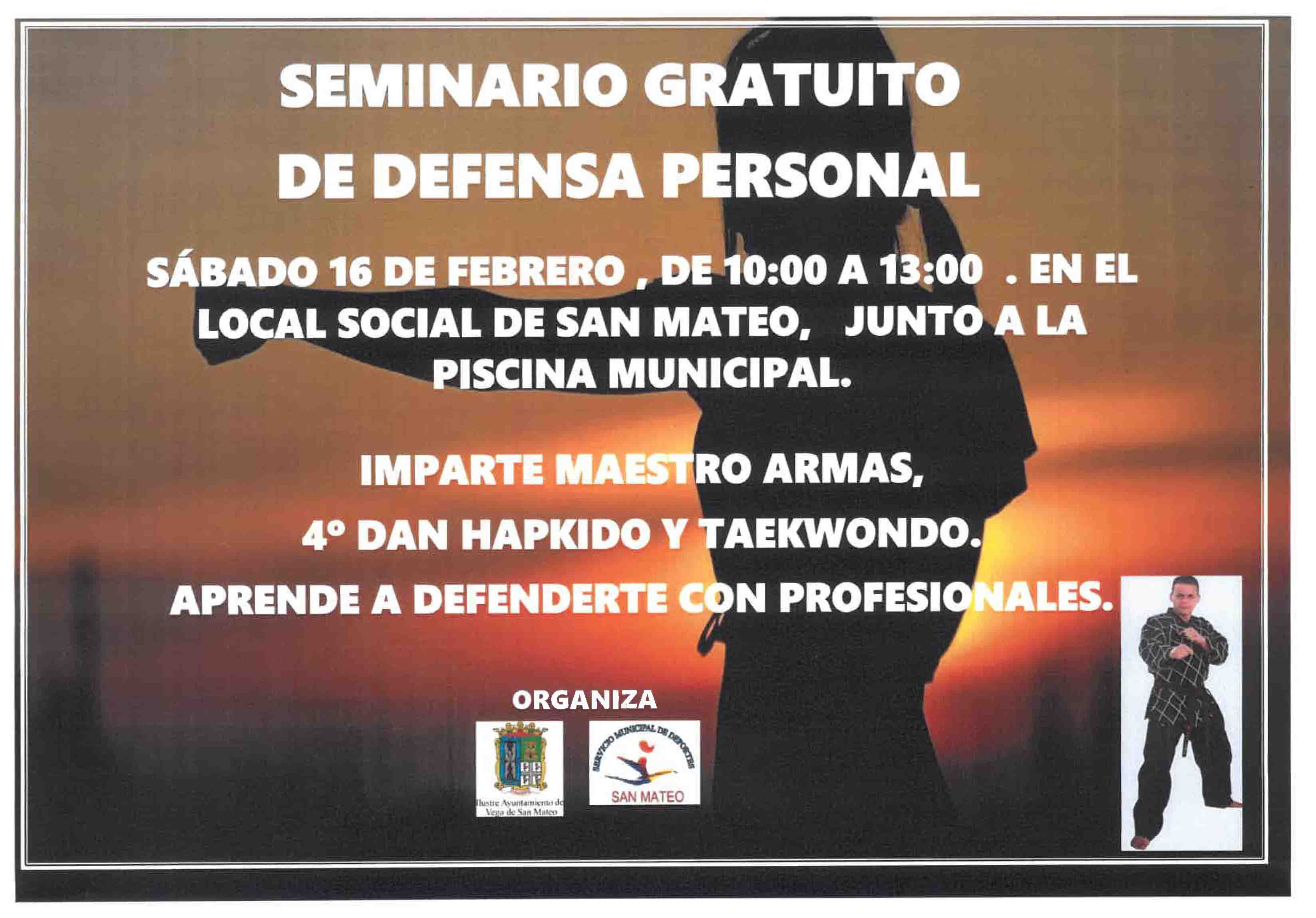 cartel de defensa personal 2 1 1