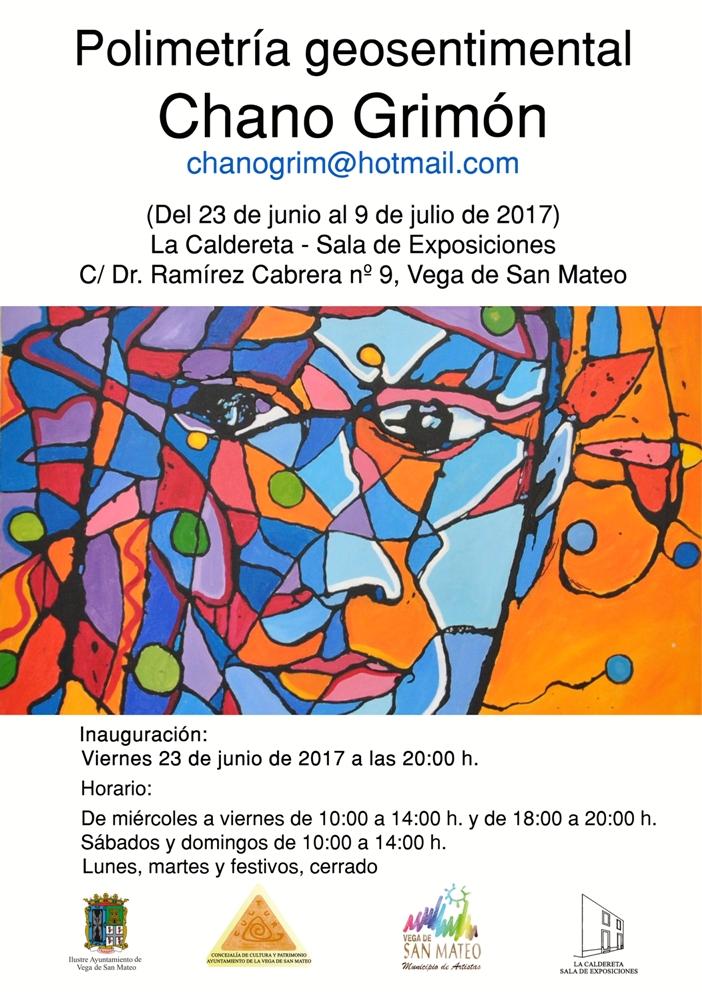 cartel expo Chano Grimon 2017