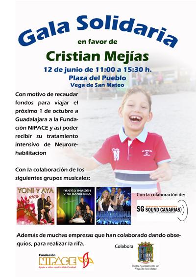 cartel gala solidaria 2016