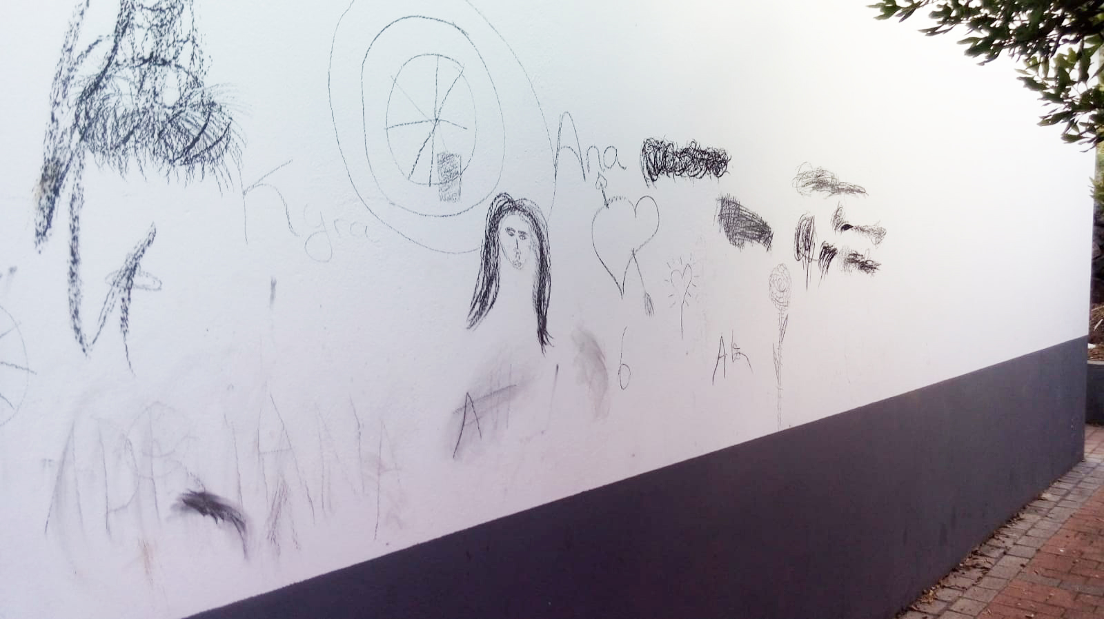 chorrillo pared vandalicos noticias de san mateo