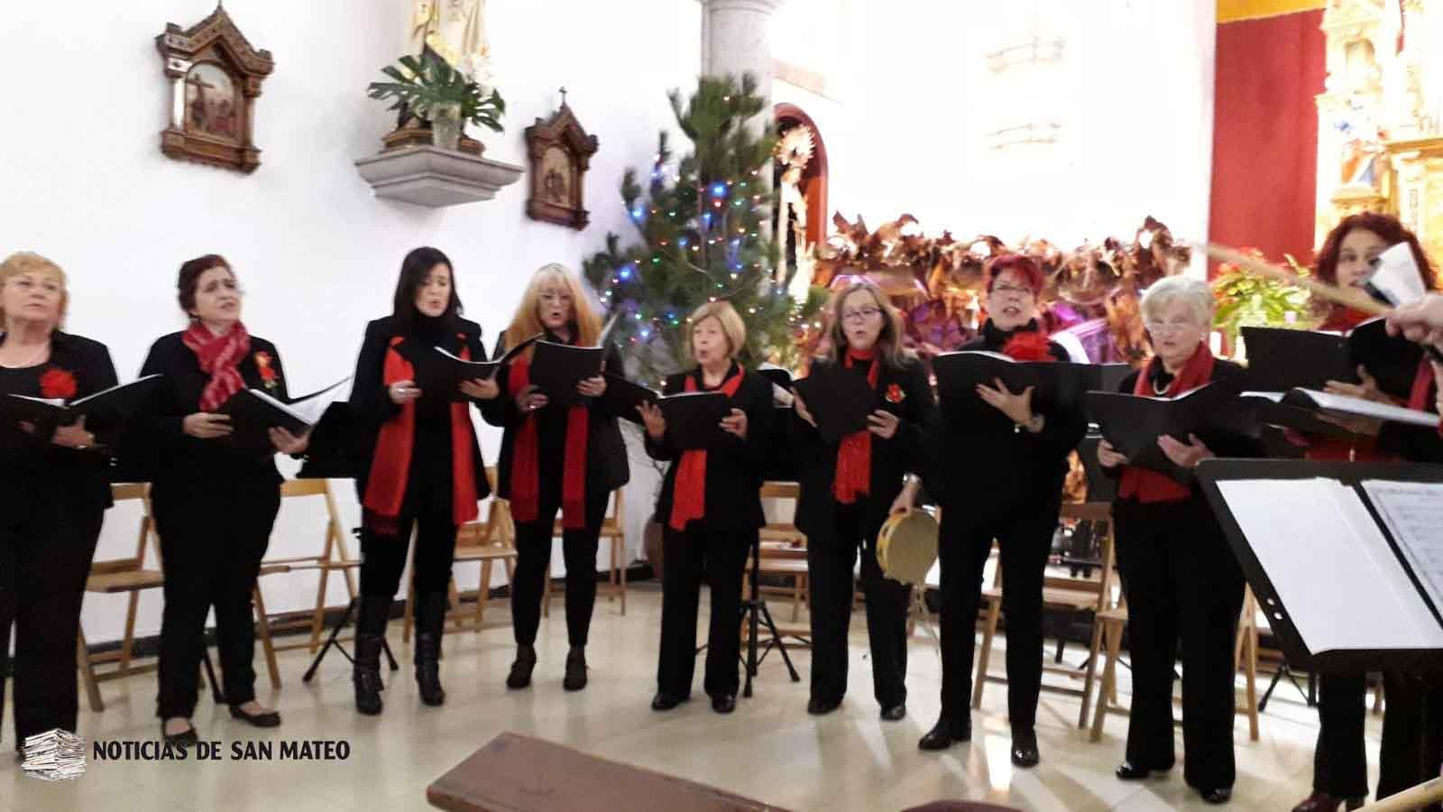 coral en concierto navidad 2018