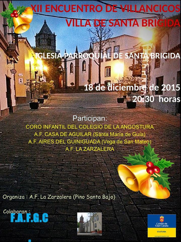 encuentro villancicos santa brigida 2015