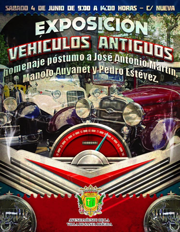 expo vehiculos antiguos santa brigida 2016